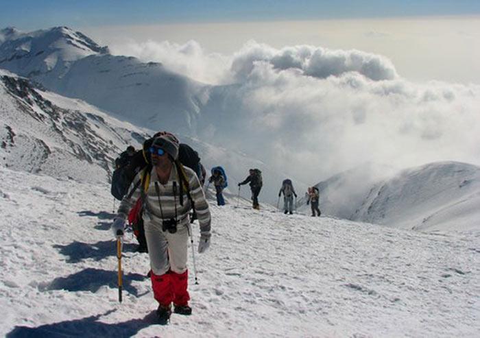 صعود به کوه توچال تهران