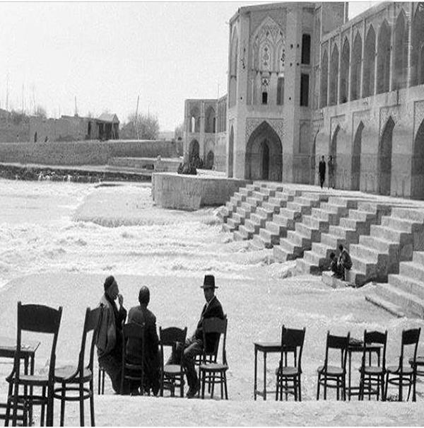 اطلاعات در مورد تاریخچه پس خواجو اصفهان